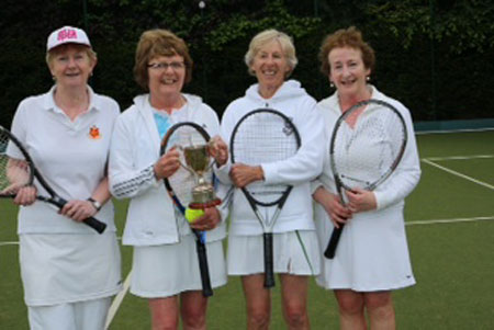 Rita O'Reilly, Aileen Sheahan, Mary O'Neill and Breege Kennedy